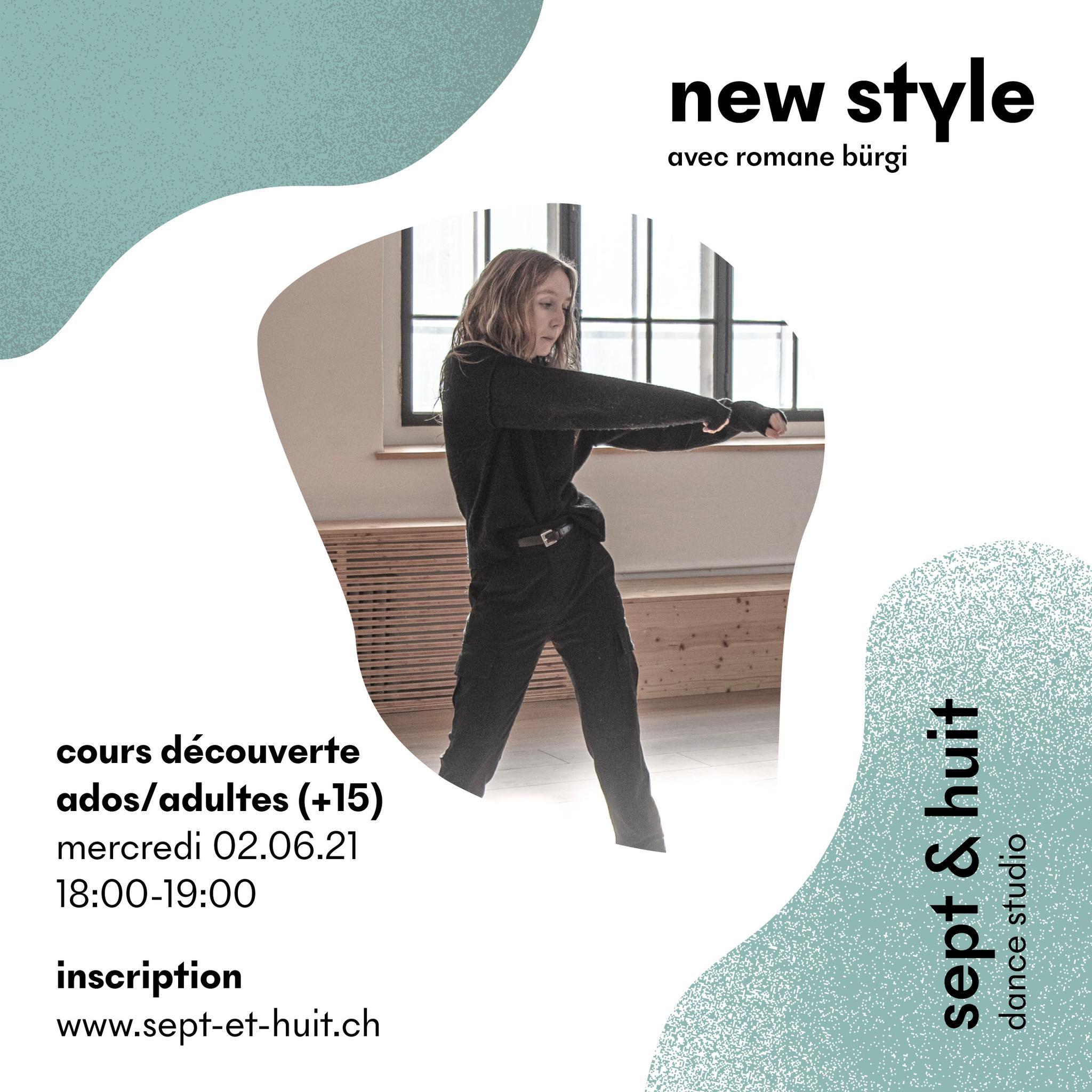 Romane Bürgi lance son cours New Style chez Sept et Huit